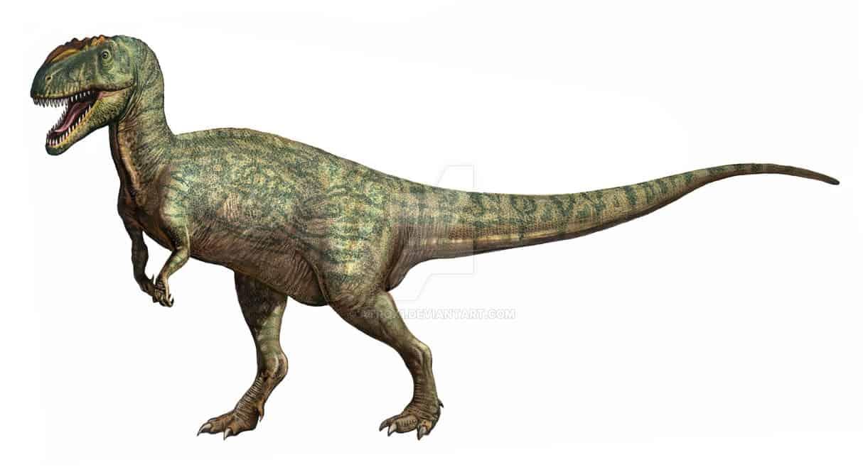 Metriacanthosaurus by Sergey Krasovskiy