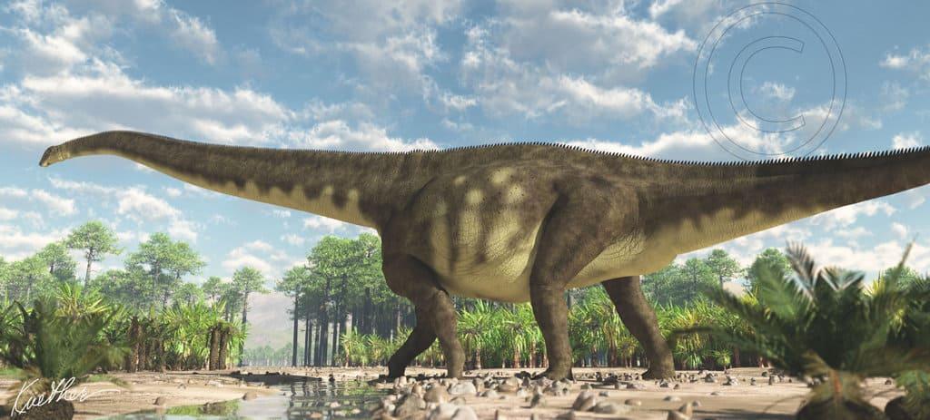 Mamenchisaurus by James Kuether