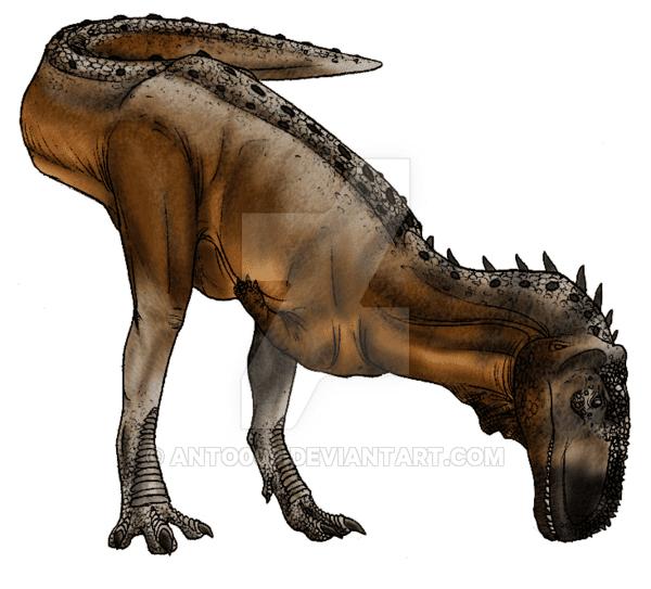 Abelisaurus by Antonella