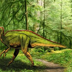 Hadrosaurus by Asuma