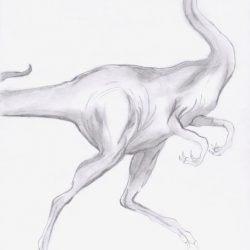 Ornithomimus by Thorn Harmony
