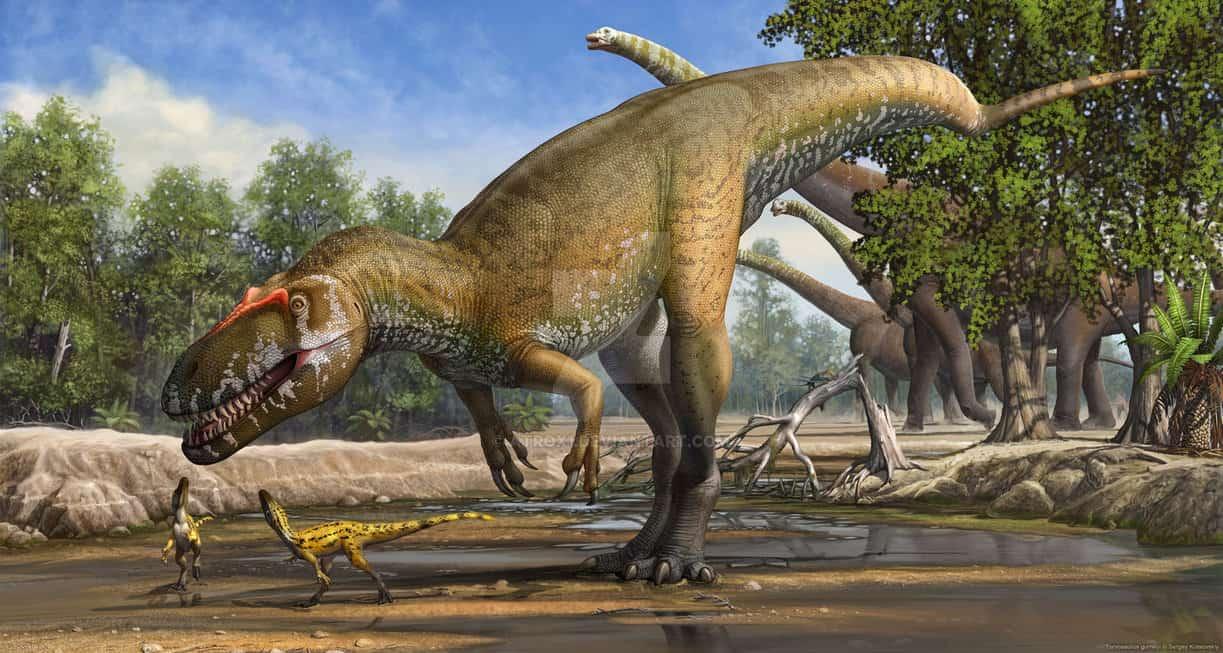 Torvosaurus by Sergey Krasovskiy
