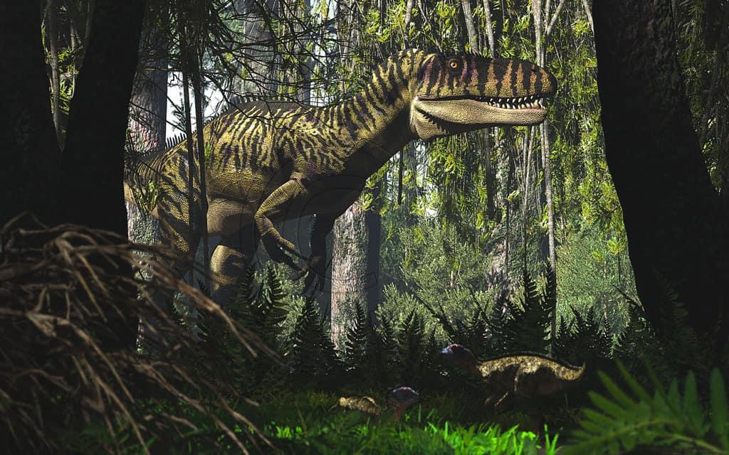 Torvosaurus by James Kuether