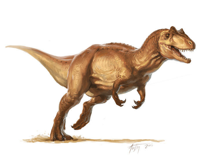 Allosaurus by L. D. Austin