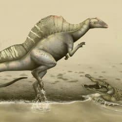 Ouranosaurus by Roman Ilyin