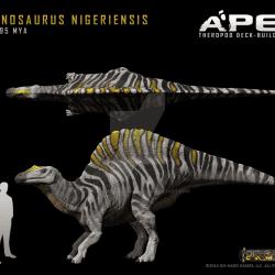 Ouranosaurus by Herschel Hoffmeyer