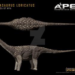 Saltasaurus by Herschel Hoffmeyer