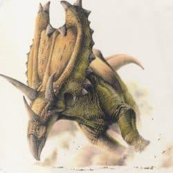 Pentaceratops by Steve White