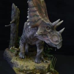 Chasmosaurus by Martin Garratt