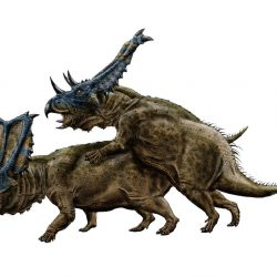 Chasmosaurus by Durbed