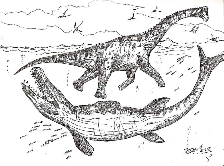 Dakosaurus by HodariNundu