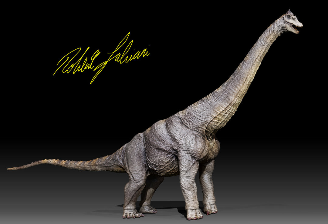 Alamosaurus by Robertasaurus Fabiani