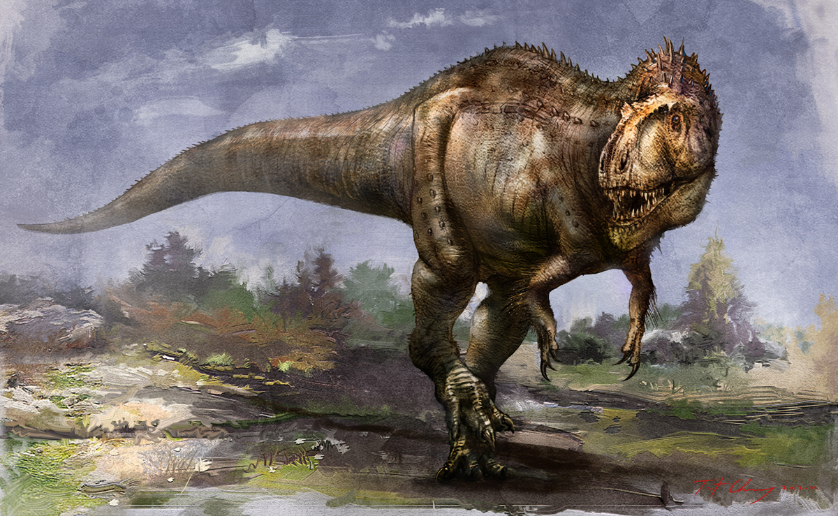 Sinraptor by Cheung Chung Tat