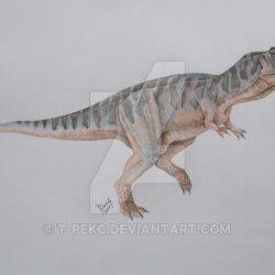 Rajasaurus by Vladimir Nikolov