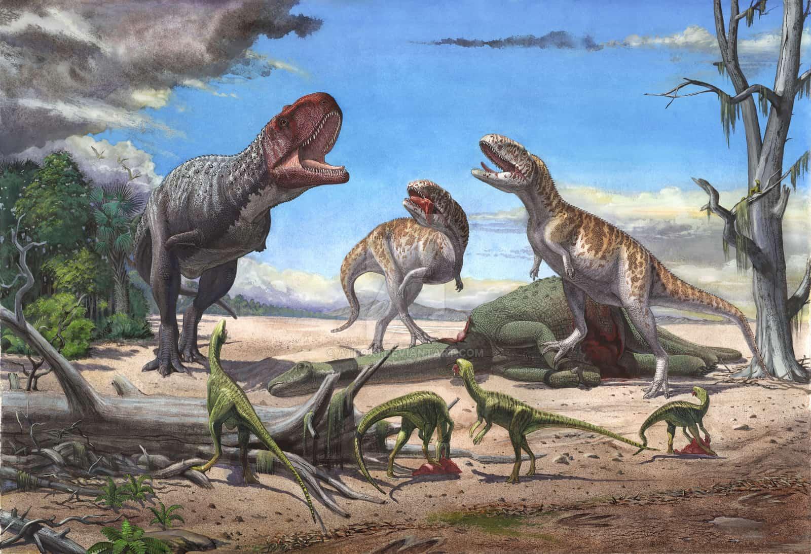 Rajasaurus by Sergey Krasovskiy