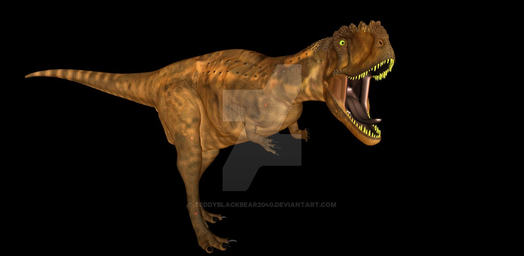 Rajasaurus by Steven Thompson
