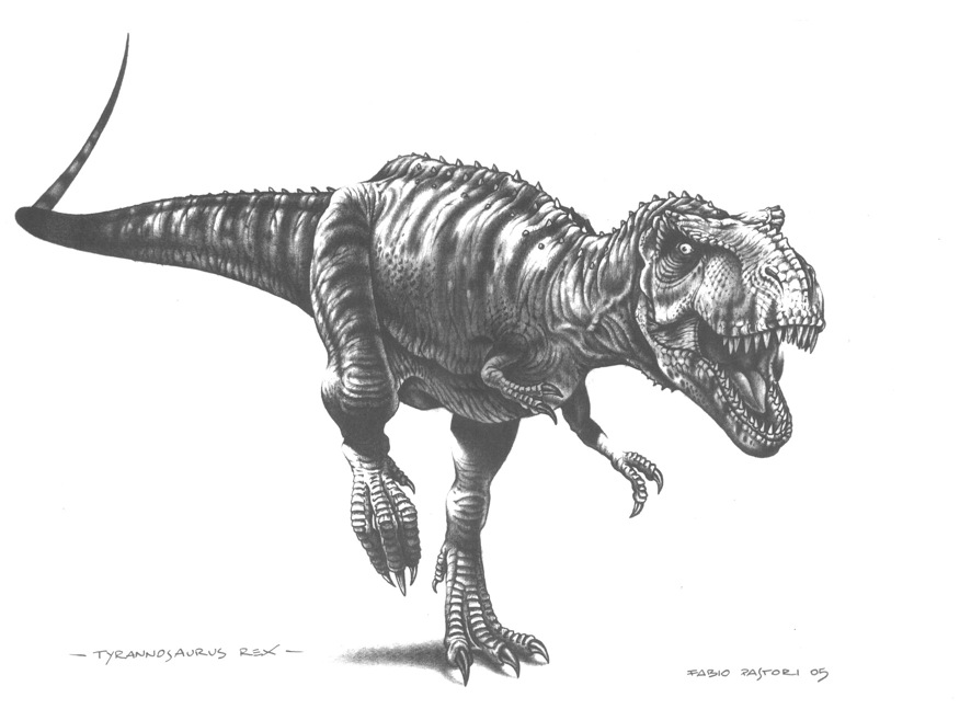Tyrannosaurus facts and pictures tyrannosaurus by fabio pastori altavistaventures Gallery