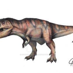 Giganotosaurus by Camus Altamirano