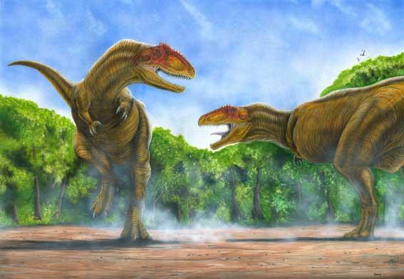 Giganotosaurus by Bruno Hernandez