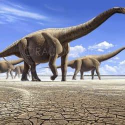 Argentinosaurus by Raul Martin