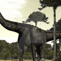 Argentinosaurus by Felipe Elias