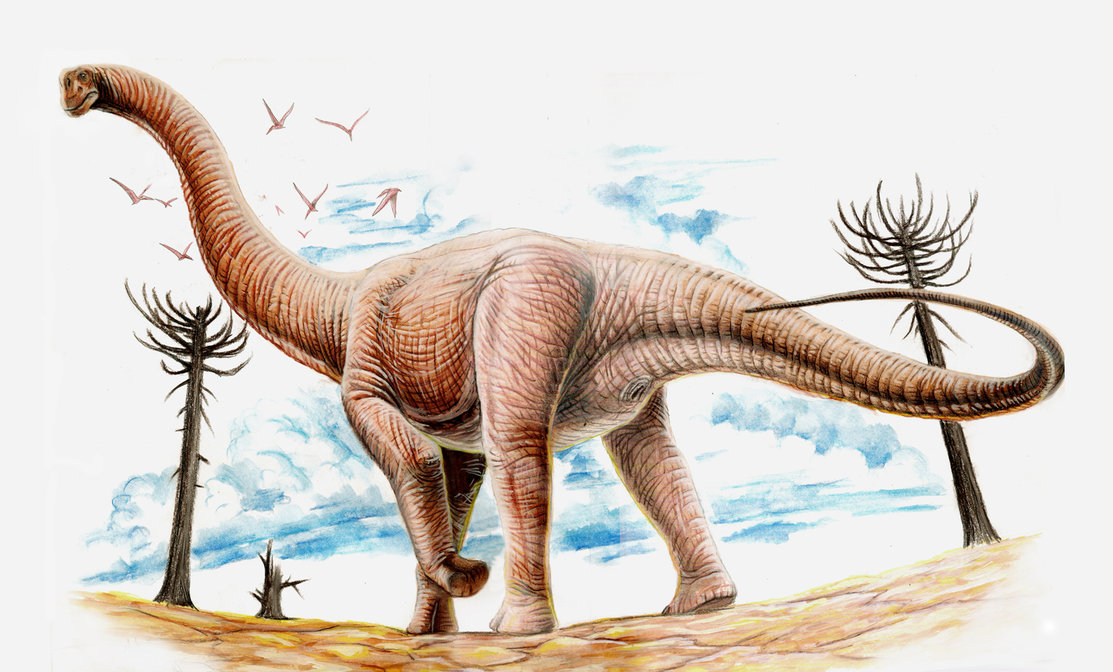 Argentinosaurus by Jorge Antonio Gonzalez