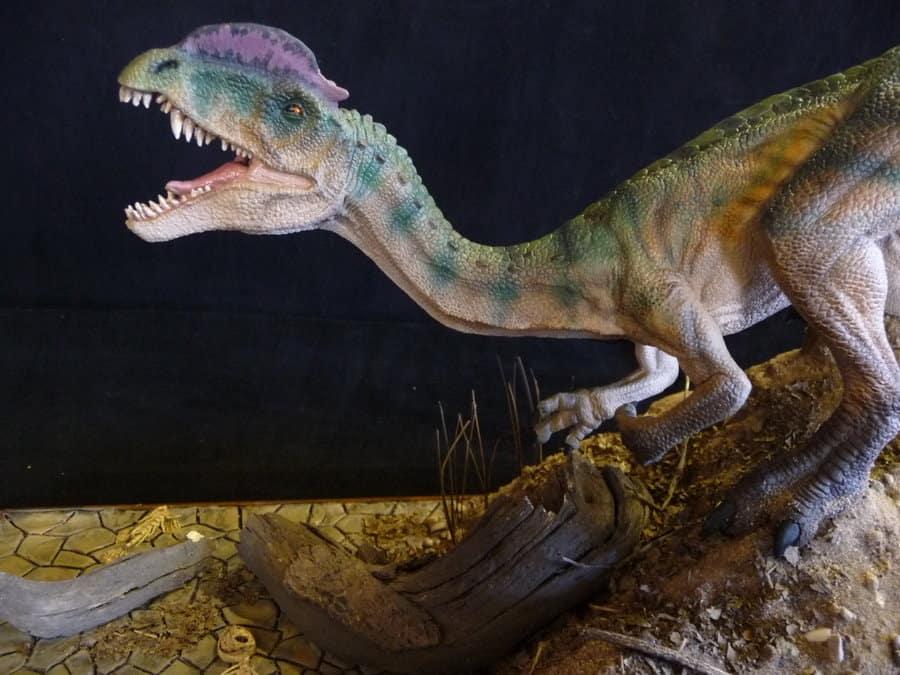 Dilophosaurus by Martin Garratt