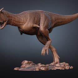 Carnotaurus by Vlad Konstantinov