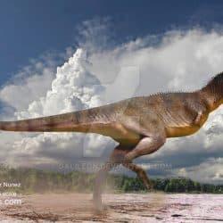 Carnotaurus by Galileo Nunez