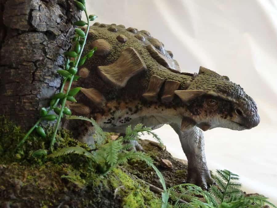 Ankylosaurus by Martin Garratt
