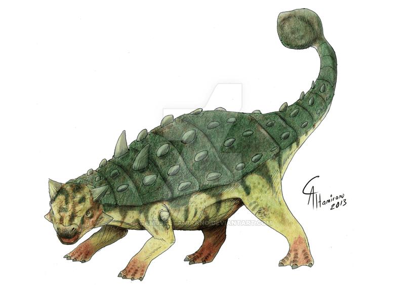 Ankylosaurus by Camus Altamirano