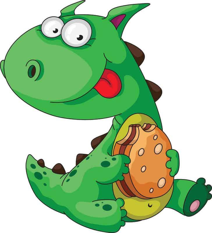 how do dinosaurs eat their food pdf
