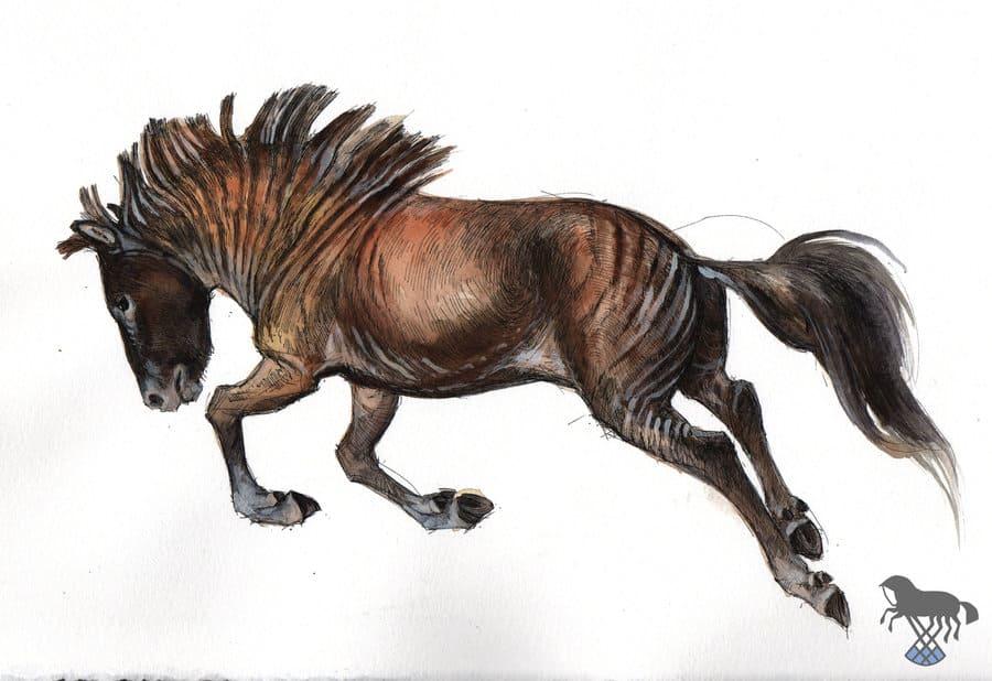 Hipparion by OblokMagellana