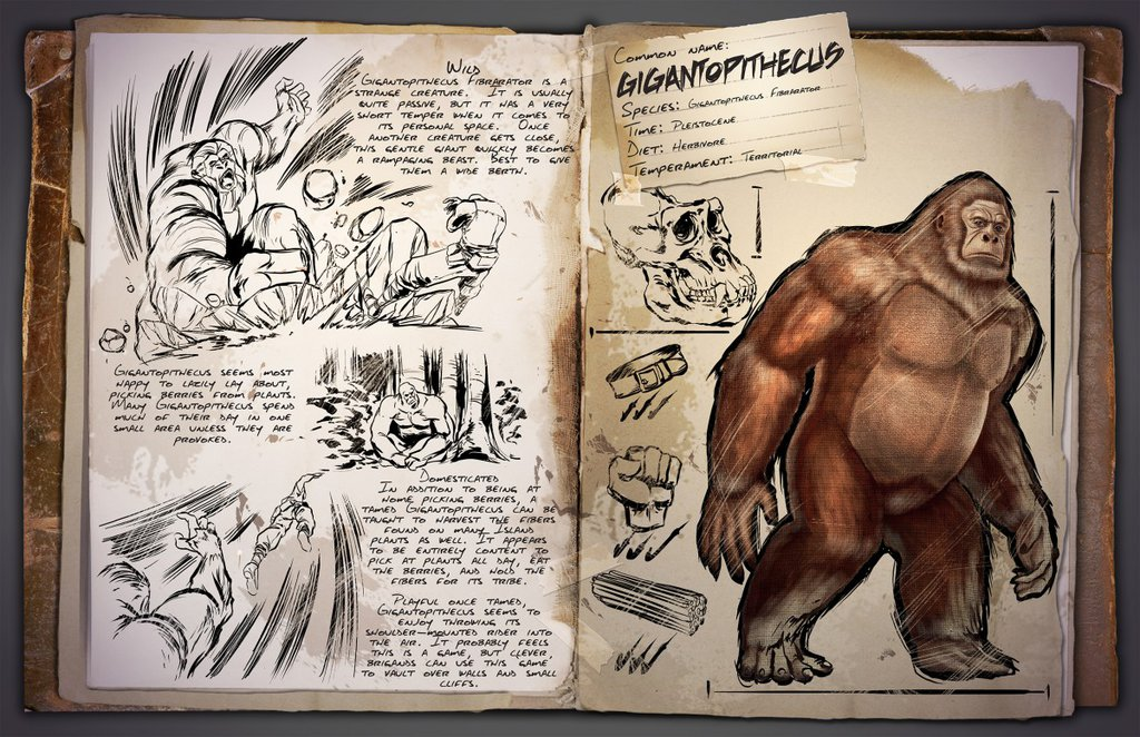 Gigantopithecus by Kevin