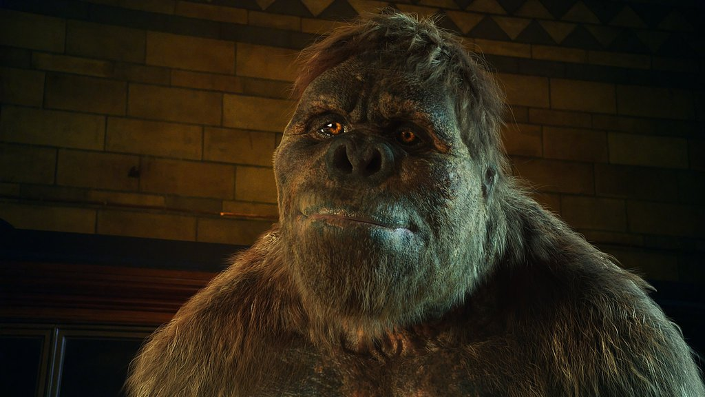 Gigantopithecus by Joshua Craig Beytien