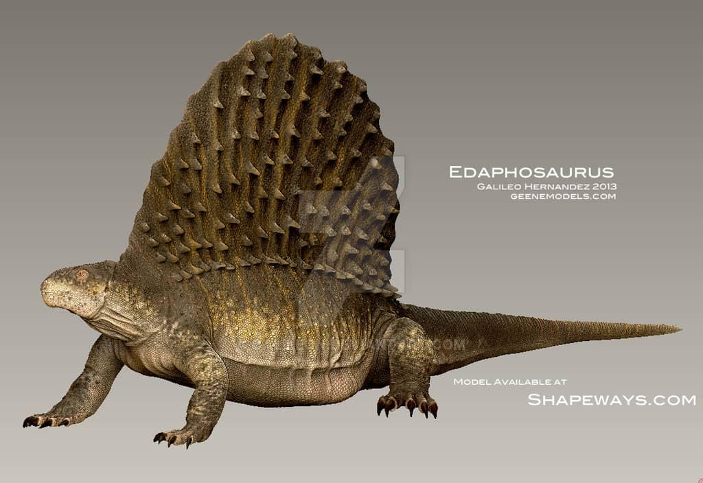 Edaphosaurus by Galileo Nunez
