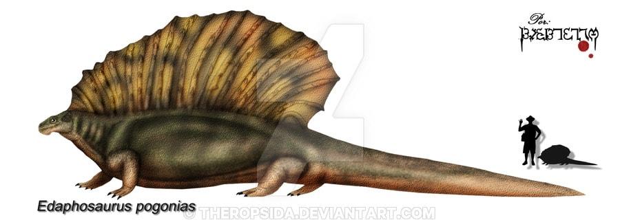 Edaphosaurus by Theropsida