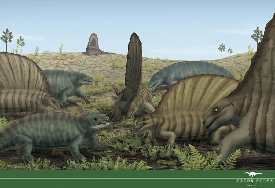 Edaphosaurus by Jose Vitor E. Da Silva