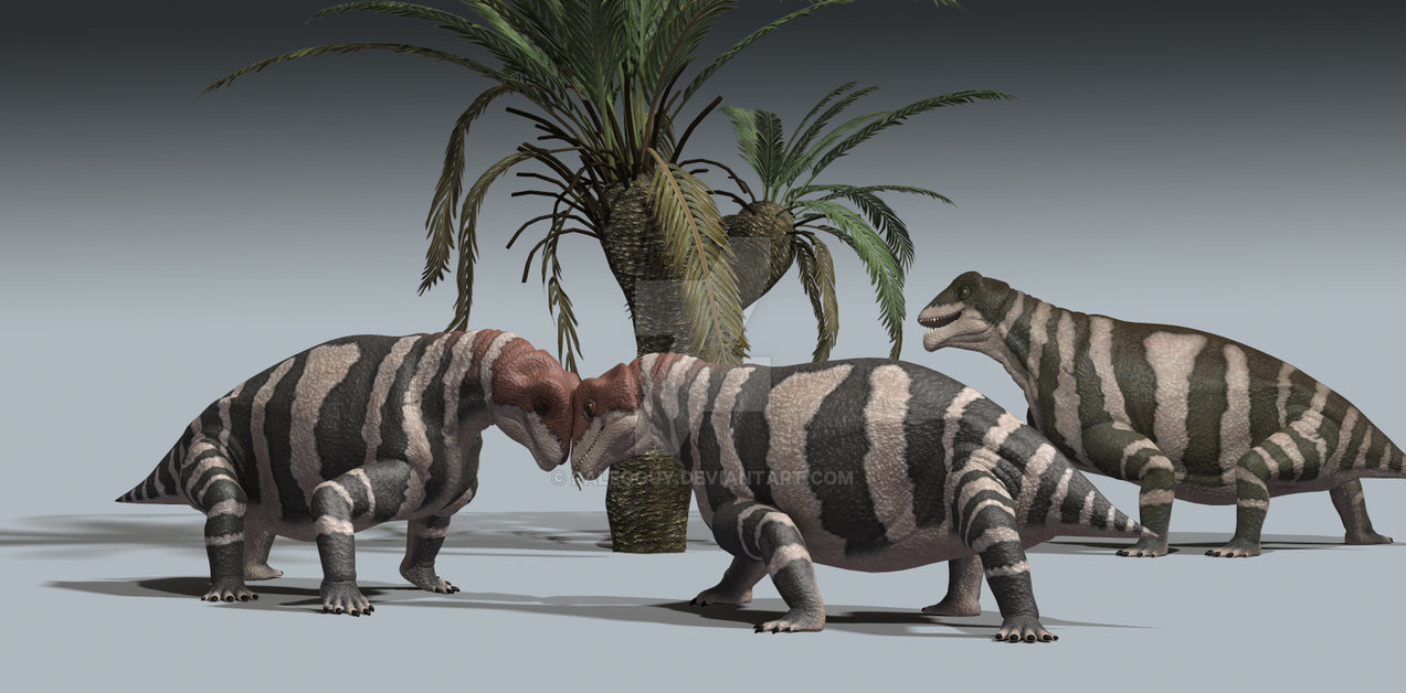 Moschops by James Kuether