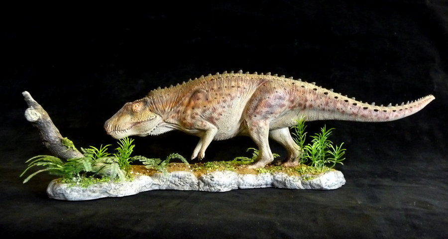 Postosuchus by Martin Garratt