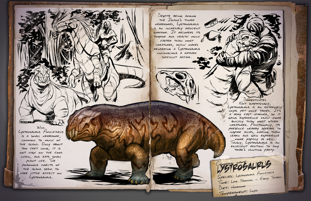 Lystrosaurus by Kevin