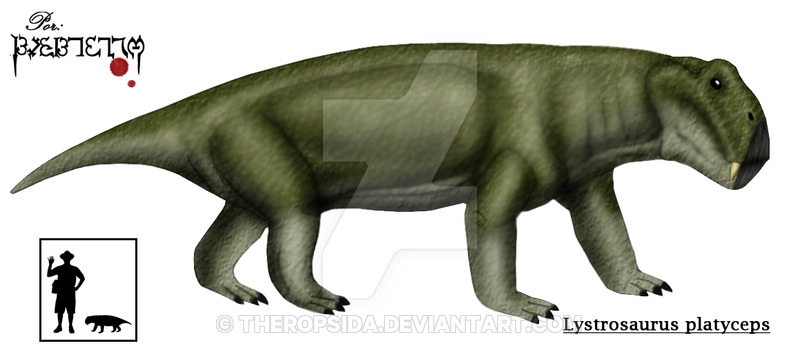 Lystrosaurus by Theropsida