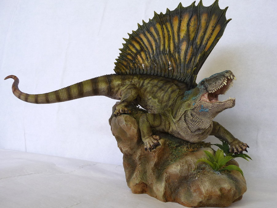 Dimetrodon by Martin Garratt