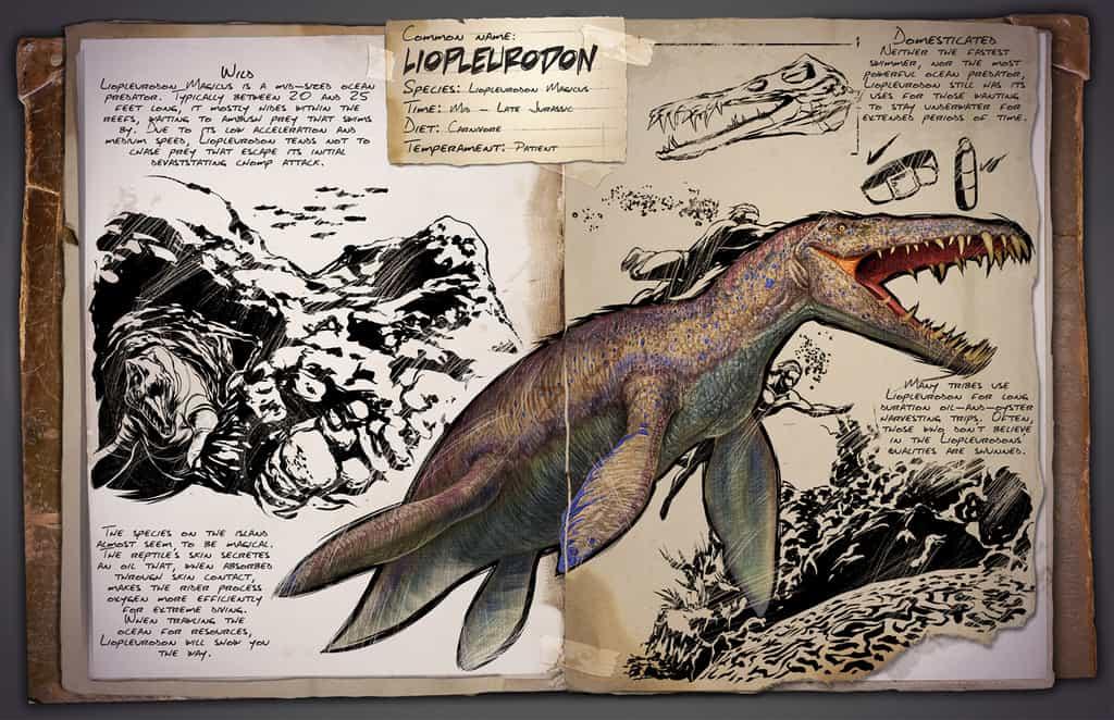Liopleurodon by Kevin