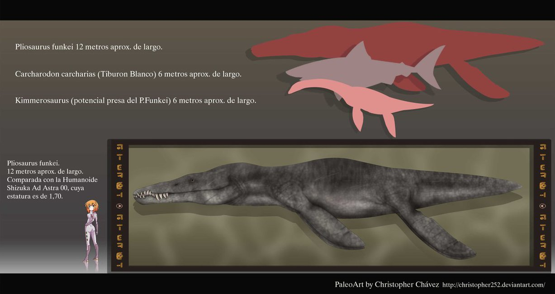 Pliosaurus by Christopher Chavez