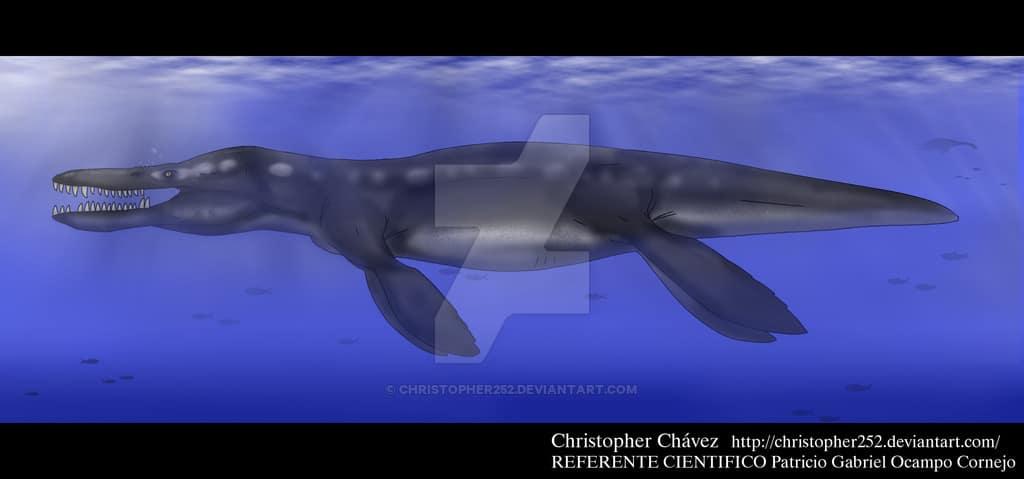 Kronosaurus by Christopher Chavez
