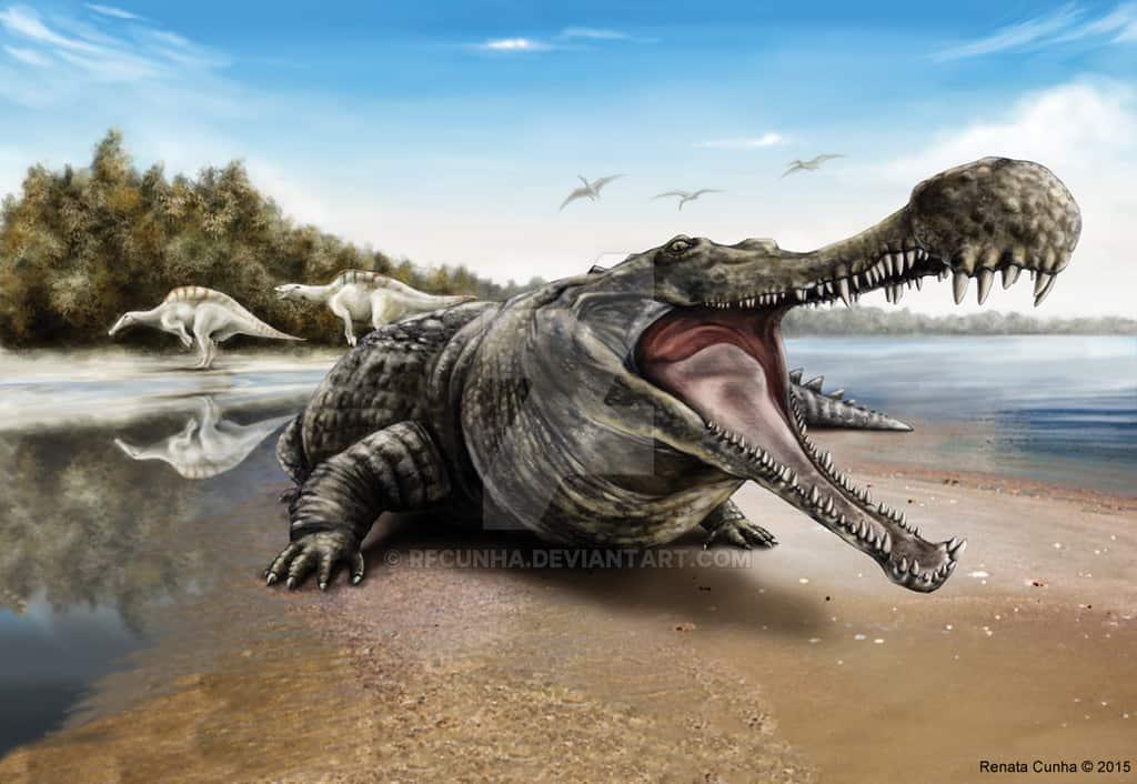 Sarcosuchus by Renata Cunha