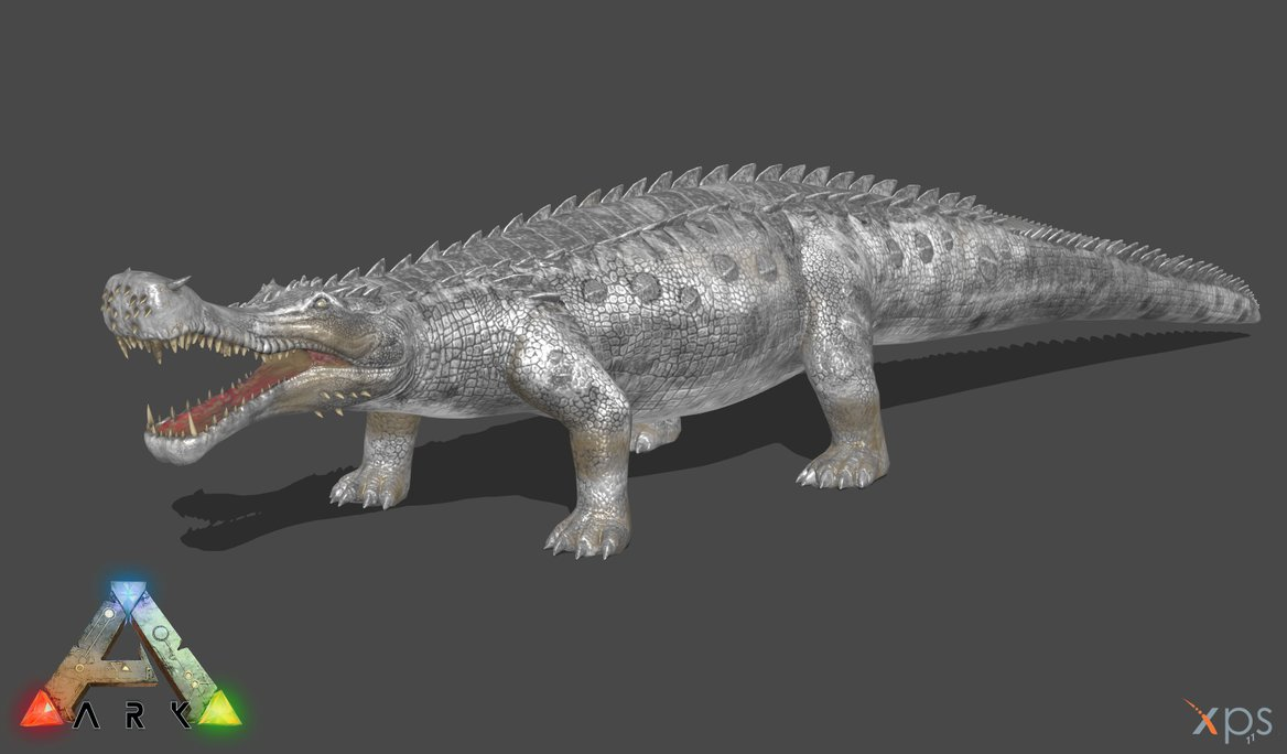 Sarcosuchus by Val