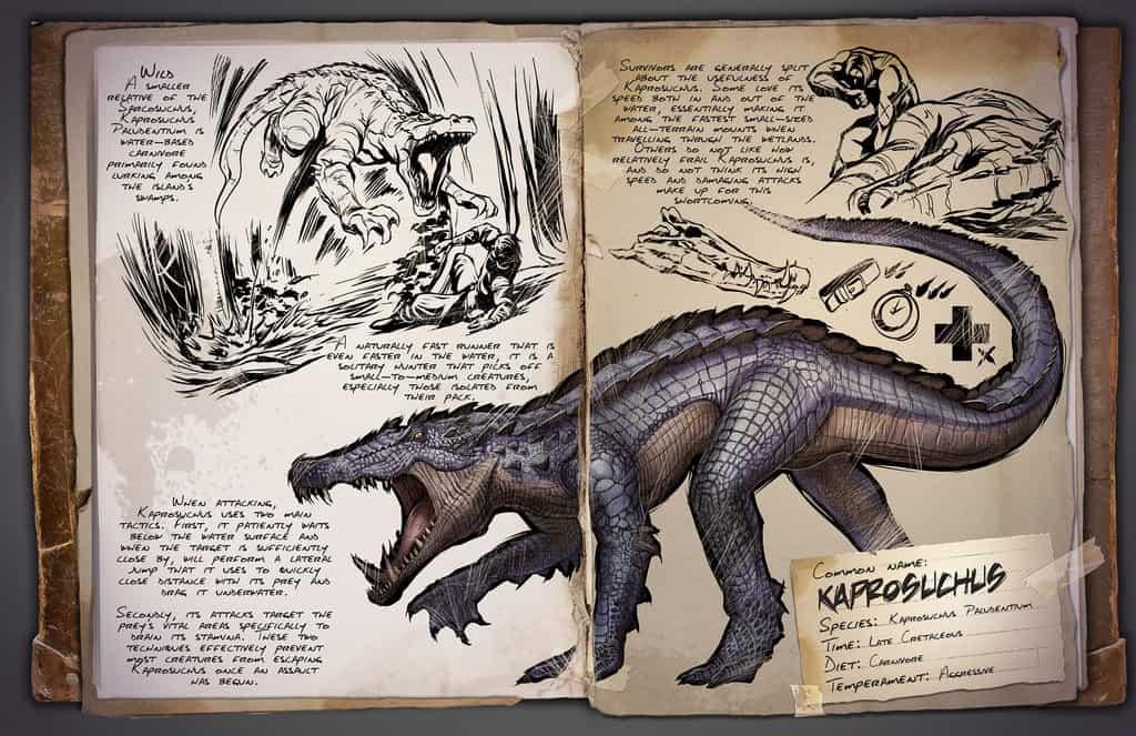 Kaprosuchus by Kevin
