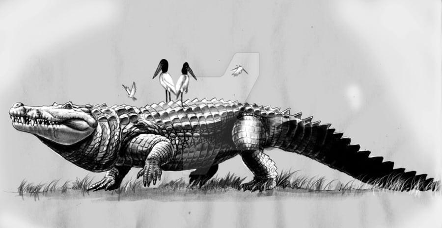 Purussaurus by Jorge Antonio Gonzalez